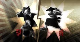 Samurai Kenny and Samurai Spenny